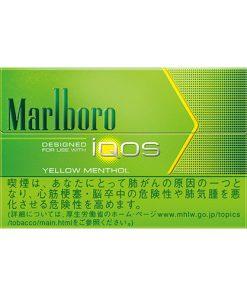 Thuốc IQOS Marlboro Yellow Menthol - Vị Chanh Bạc Hà
